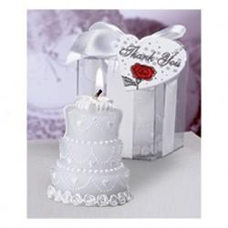 Grooms Kuchen Kerze in einem Geschenkkarton