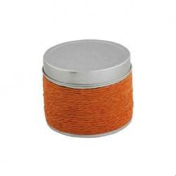 Kerze mit Duft von Orangen Blechdose