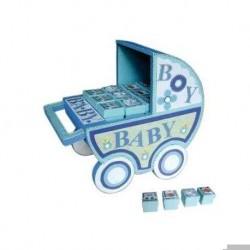 Aussteller blauen Kinderwagen (AUSSTELLER ONLY)