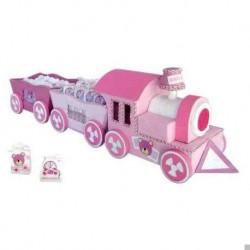 Aussteller kleinen Zug Baby rosa (AUSSTELLER ONLY)
