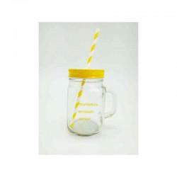 """Glas mit Deckel und Rod """"Limited Edition"""""""
