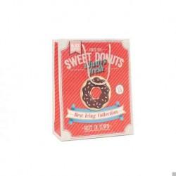 Papierbeutel süße Donuts