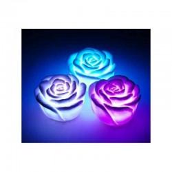 Blumen-förmigen LED-Rosa