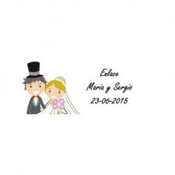 Lot 33 Hochzeit Aufkleber 2241