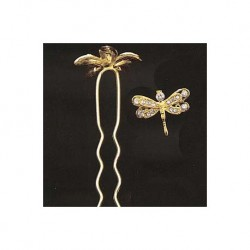 Golden Butterfly Haken Haar
