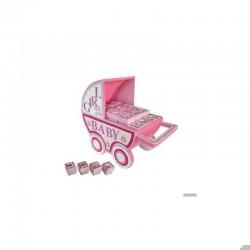 Aussteller rosa Kinderwagen (AUSSTELLER ONLY)