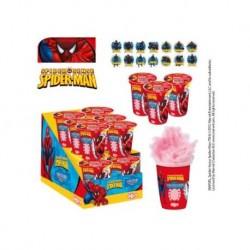Spiderman Zuckerwatte mit Klebstoff Geschenk