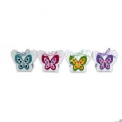 Satz von 12 Kästen Frühlings-Schmetterlings