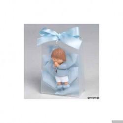 Kind beten Magnet + Ring-Box mit 10 Bonbons