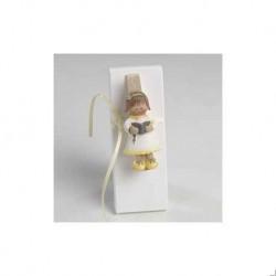 Mädchen Kommunion Magnet-Clip + 3 Napolitanas.