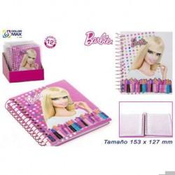 Barbie Notizblock mit 60 Blatt