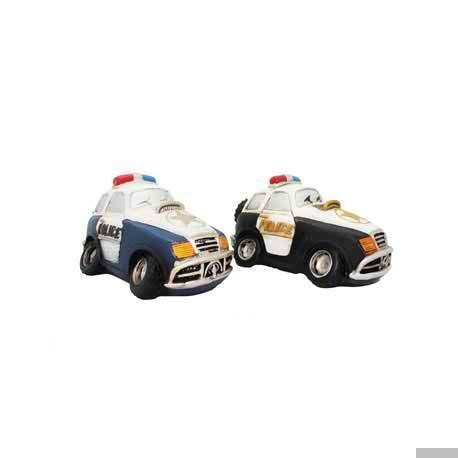 Resin Piggy Police Car