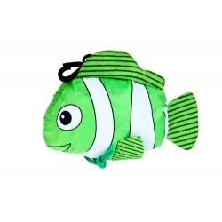 Fisch faltbaren Tasche und Organza-Schleife mit Box