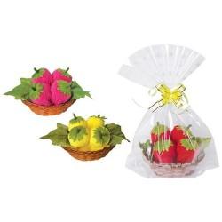 Handtücher Formen Erdbeeren