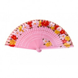 "Wooden fan ""Lovely"""