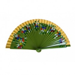 "Wooden fan ""Blume"""