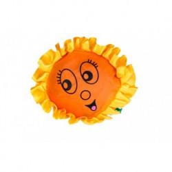 Sonnenblume mit Box Falttasche und Krawatte