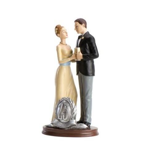 Größere Abbildung Hochzeitstorte 25th Anniversary