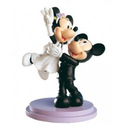 Abbildung Grooms Kuchen Mickey & Minnie Just Married