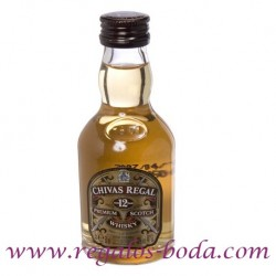 Miniatur-Spirituosen Whisky Chivas 12 Jahre