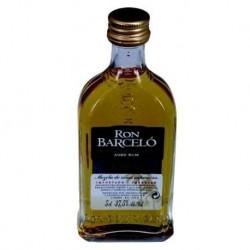 Größere Ron Barcelo Anejo Miniature Liquor