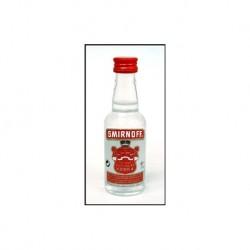 Größere Miniatur-Spirituosen Smirnoff Vodka