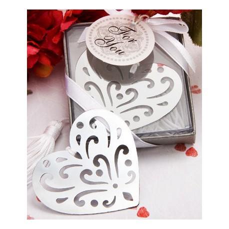Elegante Punkt-Buch Elegance Herz in Geschenkbox