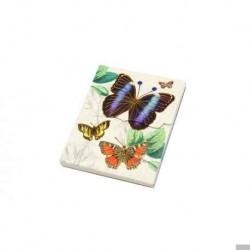 Bloc Stanz-Retro-florale Noten