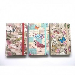 """Abschließbare Hardcover-Buch """"Schmetterlinge"""""""