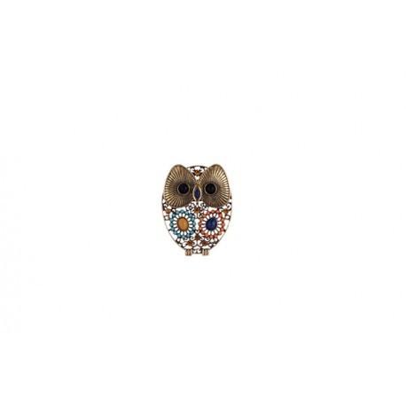 """Brosche Detail """"OWL"""""""