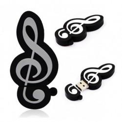 Größere Musical Note USB-Speicher 4GB