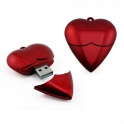Größere Herz USB-Speicher 1GB