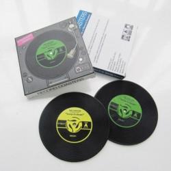 """Größere Set von 2 Bahnen in """"Vinyl"""" PVC"""
