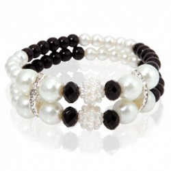 Black Pearls Armband