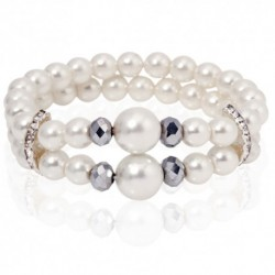 White Pearl Armband