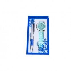 Uhr-Art-Silikon + Stift Geschenk-Box