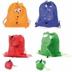 Folding Rucksack Tiere