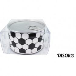"""Aluminium-Uhr """"Fußball"""" in Geschenkdose präsentiert"""