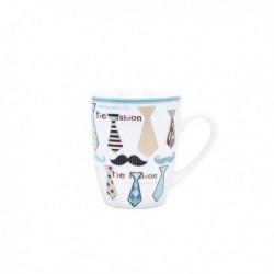 Kaffee Krawatte Man & Moustache